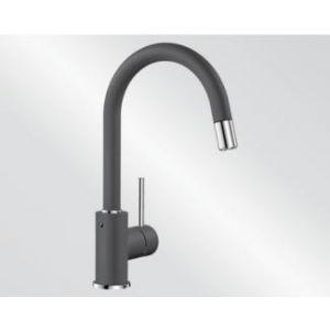 Image for Blanco Kitchen Mixer Tap Mida-S Silgranit ®-Look High Pressure - Rock Grey