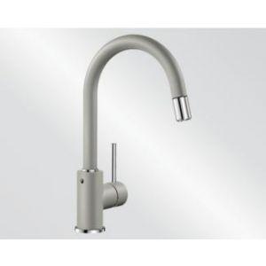 Image for Blanco Kitchen Mixer Tap Mida-S Silgranit ®-Look High Pressure - Pearl Grey