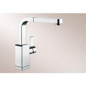 Image for Blanco Kitchen Mixer Tap Levos-S Metallic Surface High Pressure - Chrome
