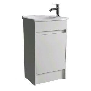 Image for Vitra S50 500mm Floor Standing Vanity Unit and Basin - Gloss White