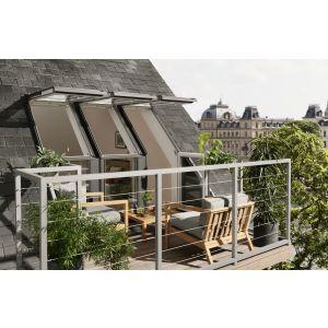 Velux Triple Roof Terrace Right Hand GEL SEOW323 238 x 245cm