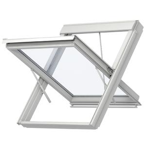 Velux GGU SK08 007040 Smoke Vent Window Only White PU - 114cm x 140cm