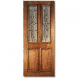 Image for LPD Derby Leaded Hardwood Exterior Door