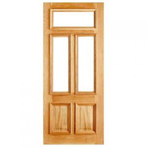 Image for LPD Danielle Oak Unglazed Exterior Door 80in x 32in x 44mm