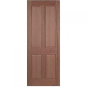 Image for LPD Regency Hardwood 4 Panel Internal Door