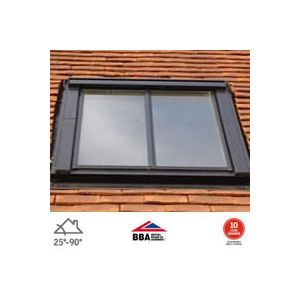 Image for VELUX White Painted GGL CK06 SD5P2  Conservation Window for 15mm Tiles - 55cm x 118cm