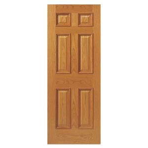 Image for JB Kind Traditional E16Mn Oak Unfinished Internal Door