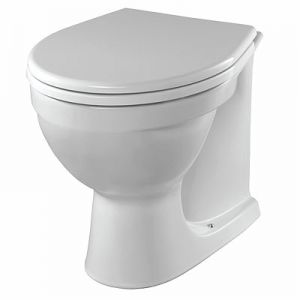 Image for Twyford Alcona Back-To-Wall Toilet Pan
