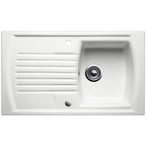 Image for Blanco SETURA 5 S Ceramic Kitchen Sink Crystal White Glossy Reversible BL452659