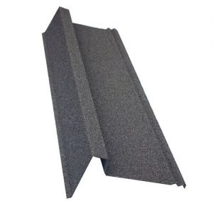 Corotile Lightweight Metal Roofing Barge Cover - Charcoal (910mm)