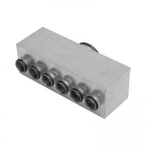 Image for Ventilation Manifold Horizontal Safe 6 Spigots MHU - Lindab InDomo
