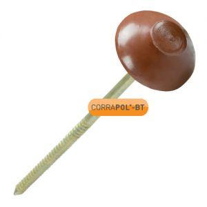 Corrapol-BT Brown Corrugated Bitumen Fixings - Pack Of 100