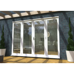 Image for Rohden White Fully Finished External French Sidelight - 78in x 22in x 54mm (1991mm x 565mm)