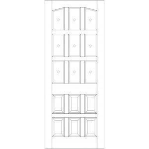Image for LPD Alicante Hardwood Mortice and Tenon Exterior Door