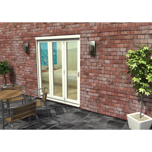 Image for Rohden White Fully Finished Bi-Fold External Doorset - 83in x 71in x 54mm (2100mm x 1800mm)