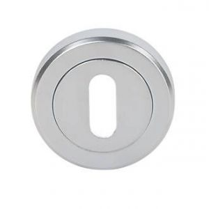 Image for Hiatt Hardware Escutcheon Key Hole - Chrome