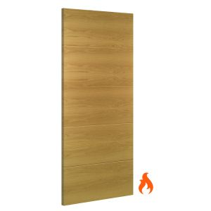 Image for Deanta Augusta Interior Oak Fire Door