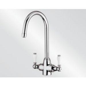 Image for Blanco Kitchen Mixer Tap Bella Metallic Surface Low Pressure - Chrome