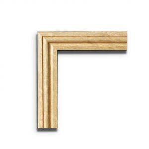 Image for Architrave Set (Ogee Profile) For Internal Oak Door Pairs Door Pair - 18 x 70 x 2133mm