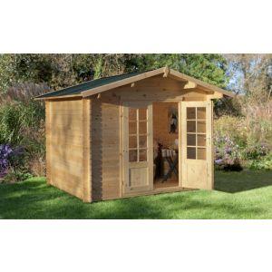 Image for Forest Bradnor Log Cabin - 8.4ft x 7ft