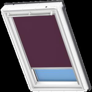 Image for Velux Electric Blackout Blind Dark Purple - DML 4561