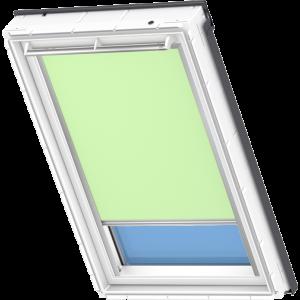 Image for Velux Electric Blackout Blind Pale Green - DML 4569