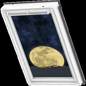 Image for Velux Blackout Blind Cars Moon - DKL 4651