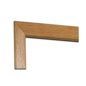 Image for Architrave Set (Modern Profile) For Internal Oak Door Pairs Door Pair -
