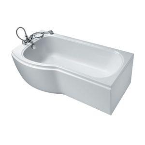Image for Ideal Standard Alto 1700mm x 800mm No Tap Hole Left Hand Shower Bath Ideal Form Left Hand Version