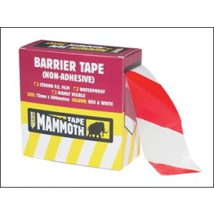 Image for Barrier Tape Red / White 72mm x 500m