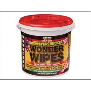 Image for Monster Wonder Wipes Tub of 500