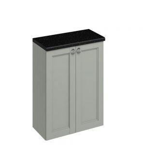 Image for Burlington 600mm Double Door Bathroom Base  Olive Unit