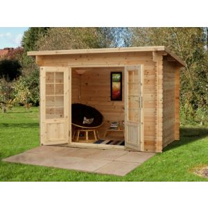 Image for Forest Harwood Log Cabin - 10.5ft x 7.2ft