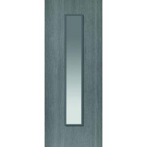 Image for JB Kind Pintado Glazed Grey Painted Internal Door
