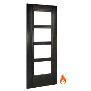 Image for Deanta Montreal Unglazed Interior Dark Grey Ash Fire Door