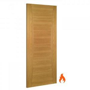 Image for Deanta Pamplona Interior Oak Fire Door -