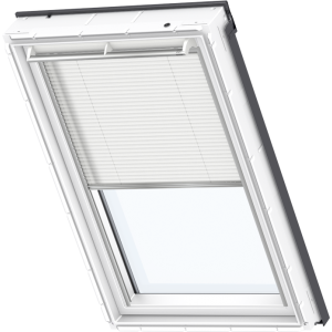 Image for Velux Electric Pleated White - FML 1016