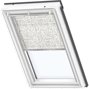 Image for Velux Electric Pleated Blind Misty Brown - FML 1260