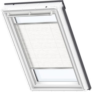 Image for Velux Pleated Blind Wavy White - FHL 1257S