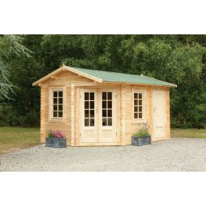 Image for Forest Ripon Log Cabin - 13.9ft x 8ft