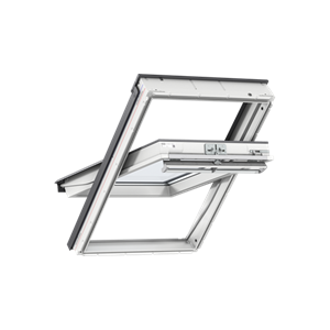 Image for VELUX GGL PK04 2066 94x98cm White Painted Triple Glazed Centre Pivot Roof Window