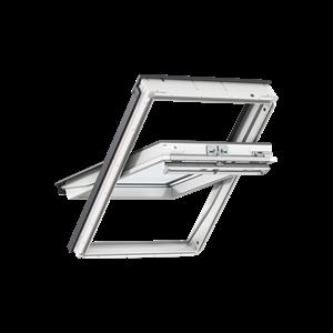 Image for VELUX White Painted GGL MK06 2066  Triple Glazed Centre Pivot Roof Window 78x118cm