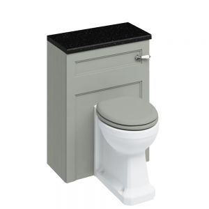 Image for Burlington Back To Wall Olive WC Unit - Includes Cistern
