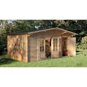 Image for Forest Wrekin Log Cabin - 17.1ft x 8.4ft