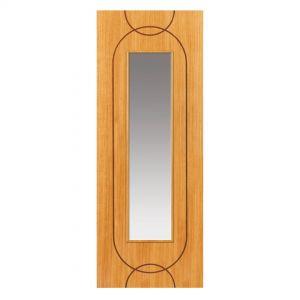 Image for JB Kind Oak Agua Glazed Pre-Finished Internal Door