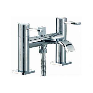 Image for Alexandrite 2 Hole Bath Shower Mixer Tap Chrome