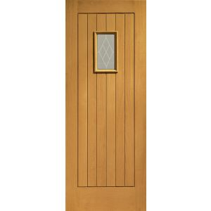 Image for XL Joinery Chancery Double Glazed External Oak with Decorative Glass