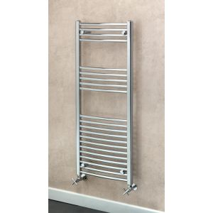 Image for Supplies 4 Heat Argyll Curved Towel Rail 500mm Wide - Chrome