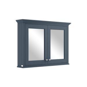 Image for Bayswater Stiffkey Blue 1050mm Mirror Wall Cabinet