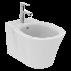 Ideal Standard Concept Air Wall-Hung White Bidet - 1 Tap Hole